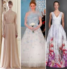 wedding dress not white wedding dress trends 2014 weddingelation