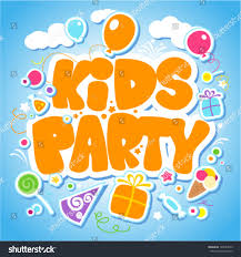 many stock birthday party invitation card vector creation kids party design template invitation card stock vector 104954639