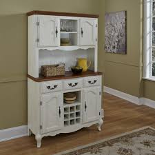 kitchen fabulous white country hutch dining room buffet white