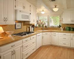 Backsplash Ideas With White Cabinets by Interior Design Marveoulus Kitchen Countertops And Backsplash