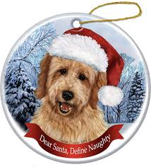 pet gifts usa howliday breed ornament goldendoodle chewy