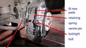 q7 brake pads replaced by mechanics