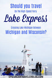 Wisconsin travel tips images Lake express ferry speeds travel between michigan and wisconsin jpg