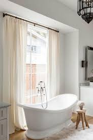 Bathtub Curtains Ivory Bathroom Curtains Design Ideas