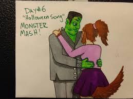 halloween songs monster mash spooky inktober prompts page 2