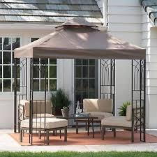 gazebo canopy tent cover shelter shade 8x8 pergola outdoor yard