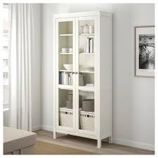 ikea hemnes glass door cabinet hemnes glass door cabinet white stain 90x197 cm ikea