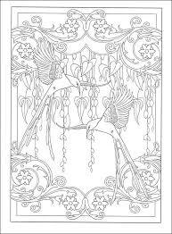 nouveau designs coloring book zone