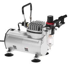 3 airbrush compressor kit dual action spray air brush set tattoo