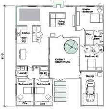 U Shaped House Plans With Courtyard U Shaped House Plans With Central Courtyard Google Search