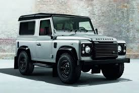 land rover jeep defender for sale official land rover defender black pack and silver pack gtspirit