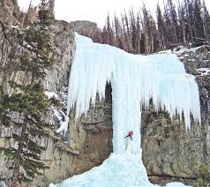 Wyoming waterfalls images Waterfalls draw many to winter festival wyoming news jpg
