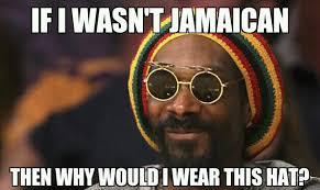 Half Baked Meme - snoop lion is a fake jamaican as thurgood jenkins was in half