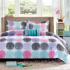 Polka Dot Comforter Queen Amazon Com Mizone Audrina Polka Dot Comforter Set 4 Piece