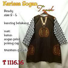 Baju Batik Batik baju batik modern wanita motif baju batik gambar baju batik modern