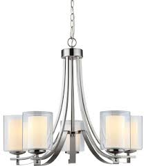 el dorado 5 light chandelier transitional chandeliers by