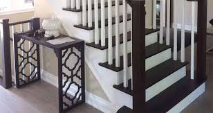 How To Refinish A Banister Stairs And Railing Staircase Treads Wood Barrie Ontario