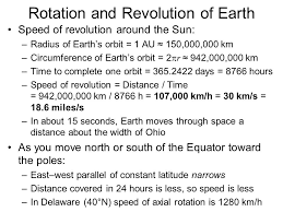Delaware how fast does the earth travel around the sun images Rotation and revolution of earth ppt video online download jpg