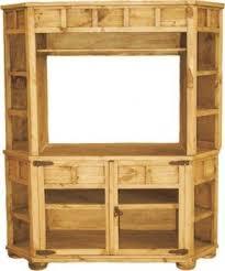 Unfinished Tv Armoire Wood Corner Tv Stands Foter
