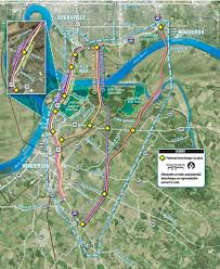 Map Of Ohio And Kentucky by Evansville Gets A Look At 5 I 69 Ohio River Bridge Possibilities