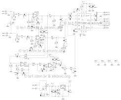 watt tip41 and tip42 audio amplifier schematic suggested pcb