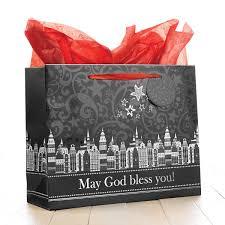 large christmas gift bags large christmas gift bag may god bless you luke 2 11
