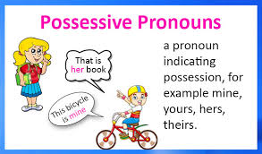 possessive pronouns definition examples and printable worksheets