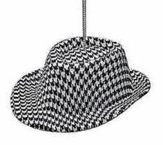 crimson tide bryant alabama ornament hat decoration