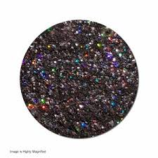 holographic glitter glitter cosmetic holographic jar back in black