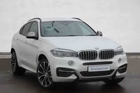 cars bmw x6 used bmw x6 sports activity vehicle diesel in mineral white from