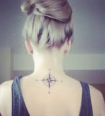 amazing back of neck cool tattoos for women styles time