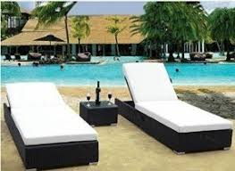 Patio Furniture Loungers Wicker Patio Lounge Chairs Foter