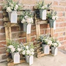 rustic wedding rustic wedding table plan with flower pots the wedding of my dreams