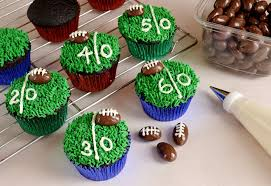 football cupcakes be different act normal football cupcakes bowl treats