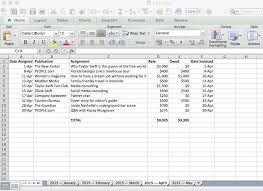 Income Tracker Spreadsheet On The Tracking Income Expenses Camels Chocolate