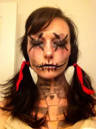 halloween voodoo doll makeup ideas u2013 printable editable blank