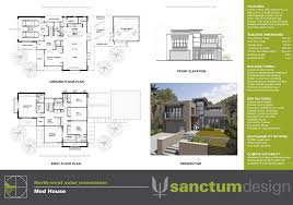 upside down floor plans home architecture double story modern house plans google search