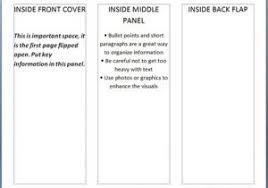 100 blank brochure templates 6 panel brochure template
