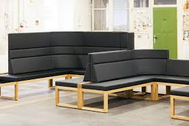 diner bench waiting area benches from ton architonic