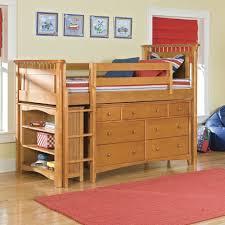 bedroom white bunk beds girls room