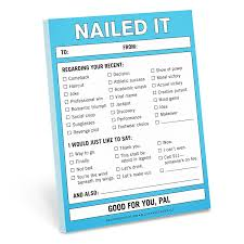 Nailed It Desk Organizer by Memo U0026 Scratch Pads Amazon Com Office U0026 Supplies Paper