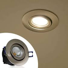 warm led recessed lights 5w directional cob led recessed lighting fixture silver torchstar
