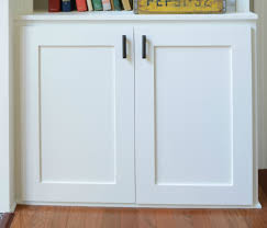 Kitchen Cabinet Door Bumpers How To Make A Cabinet Door Out Of Plywood Best Home Furniture