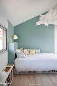 peinture mur de chambre chambre mansardee quel mur peindre