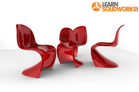 how to model a panton chair in solidworks grabcad