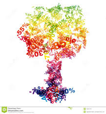 sale discount tree stock photography image 15367072