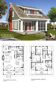 lake house plan narrow lot cool craftsman home plans homes best