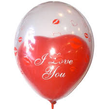 balloons inside balloons delivered balloon with heart inside partytto balloons party decoration