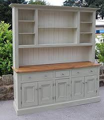 Country Hutch Furniture White Sideboard Buffet Cabinet Diy Wood Top Country Pretty Doors