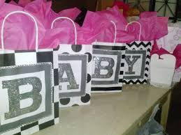 bling pink black and white baby shower decor u2013 the happy soul life